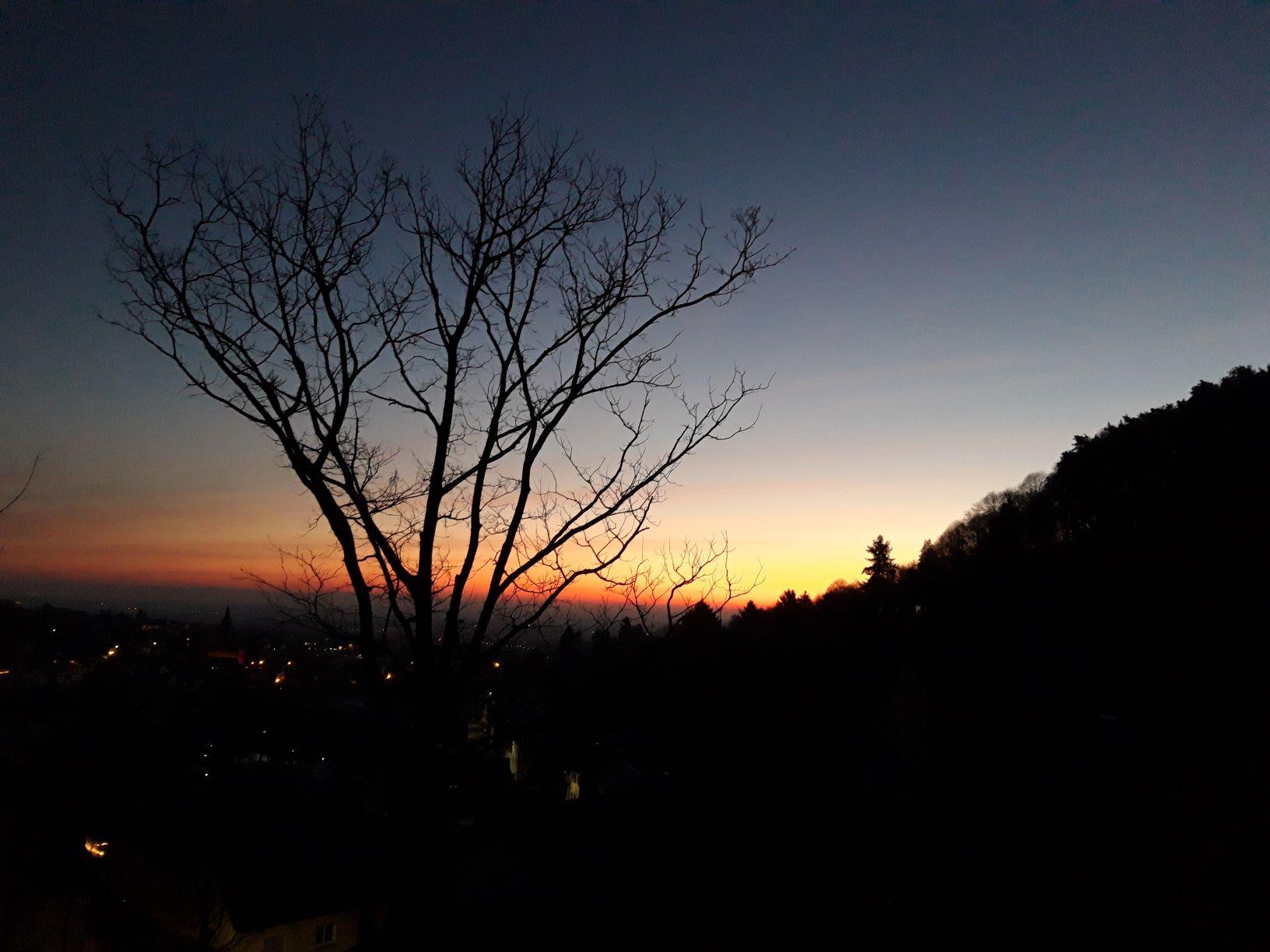 Sonnenaufgang Sankt Martin