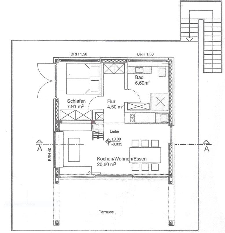 Grundriss Baumhaus